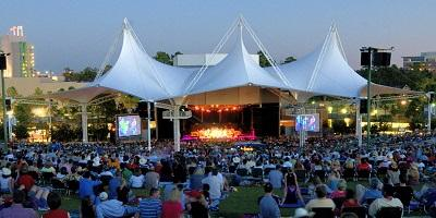 Concerts Continue at Nearby Cynthia Woods Mitchell Pavilion