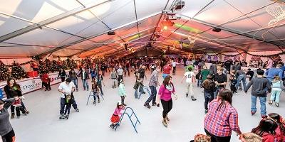 Holiday Ice Rink Opens Minutes From Harmony