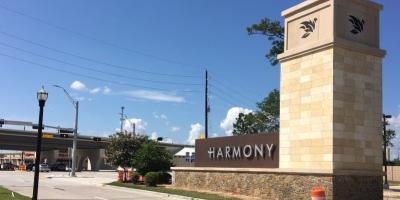 New Harmony Entry Monument Says You're Home