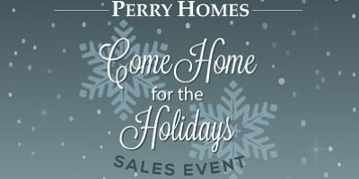 Perry Homes Launches End-of-Year Sales Event