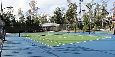 Tennis Courts, Sport Court Open in Harmony
